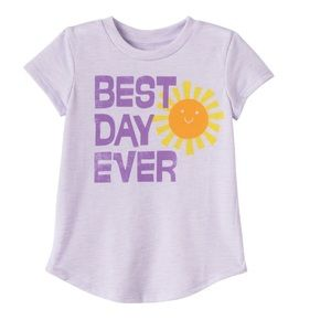 BEST DAY EVER shirt 4T